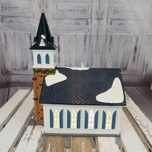 Department 56 Holiday - Dept 56 54640 Wedding Chapel Church Snow Village X